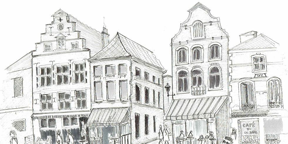Urban Sketching in Diest (gratis)