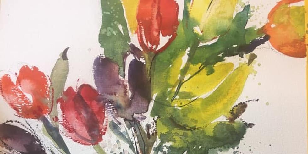 Art of watercolour - Gerda Mentens
