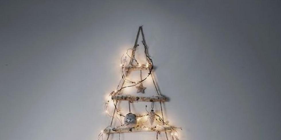 Kerstboom aan de muur (8-14j)