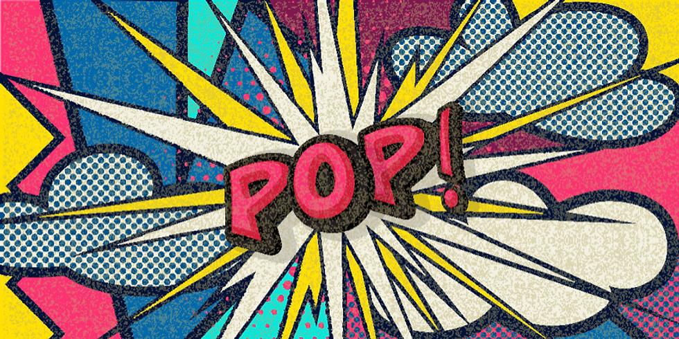 POP ART DAG  (8tot 14j)