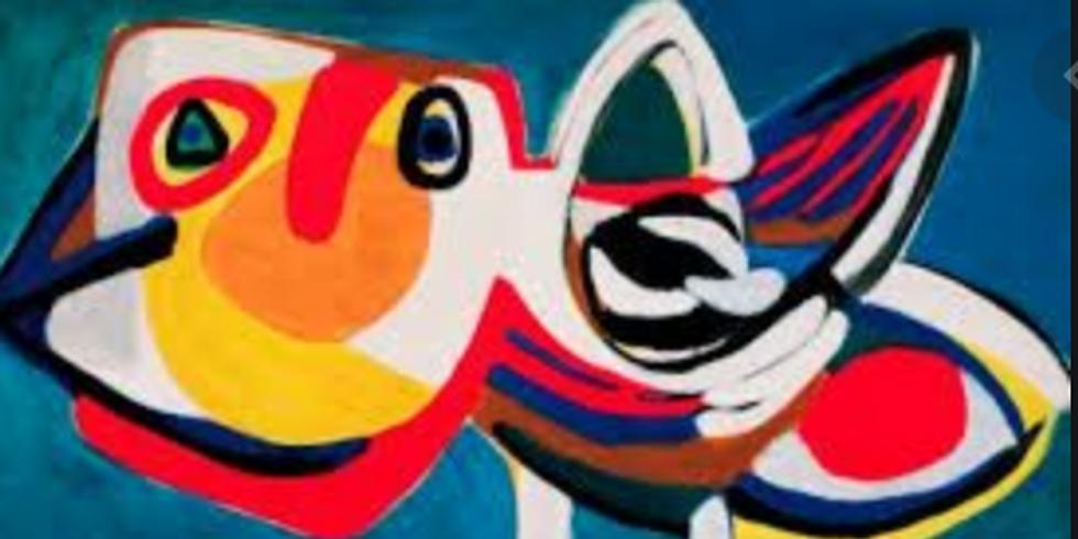 Duo schilderen: thema Karel Appel