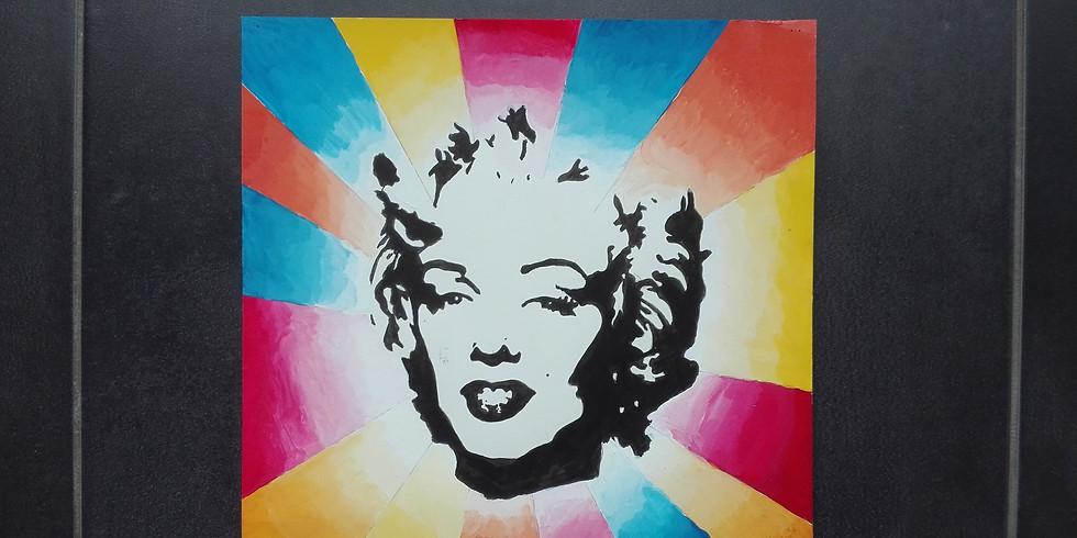 POP ART voor kleurrijke duo's  ( Tieners + ...)