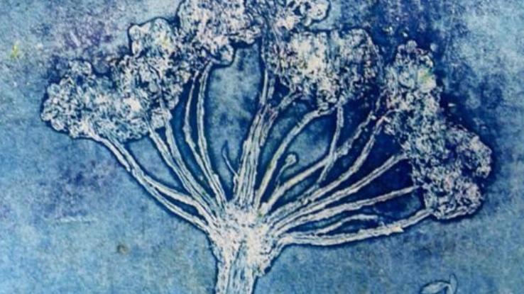 Botanical gelliprinting - kaartjes maken