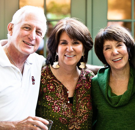My twin brother (to the left with my sister Susan and myself) is Professor John McDargh, Boston College.