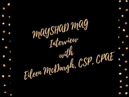 MAYSHAD MAG interview With Eileen McDargh