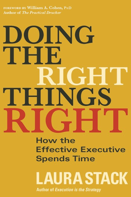 Doing the Right Things Right Book Cover