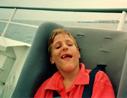 Michael at Sea