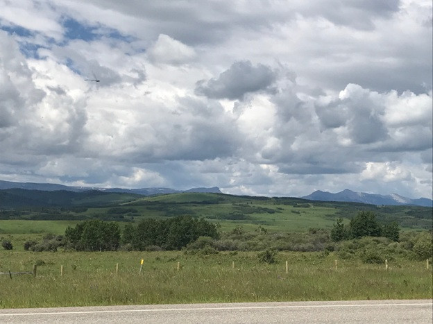 Montana Road in Oglala Sioux Country