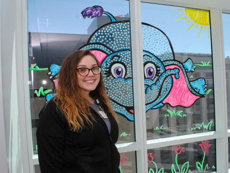 Art from the Heart Makes Hospital's Smile