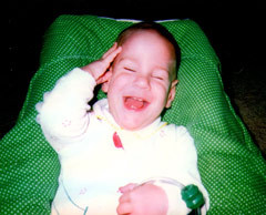 Michael as Baby