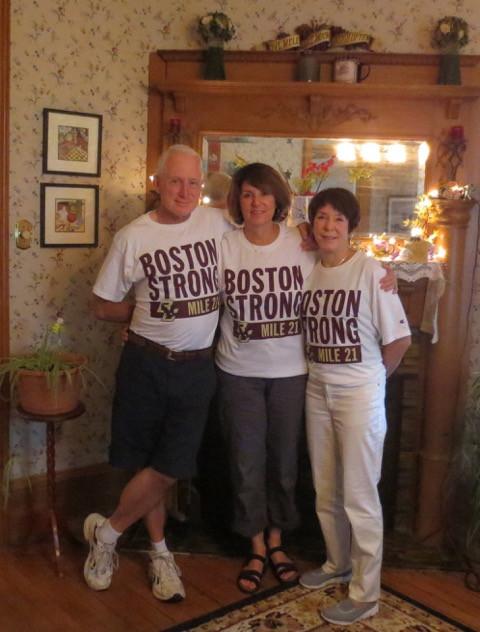 John, Susan and Eileen