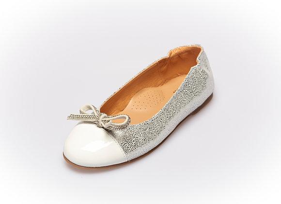Clarys Ballerine Silver