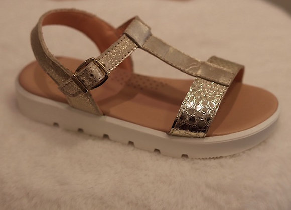 Clarys Sandal Gold