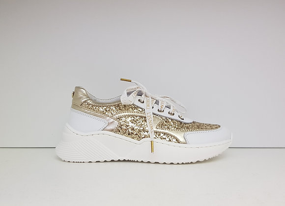 Twinset Sneaker White Gold