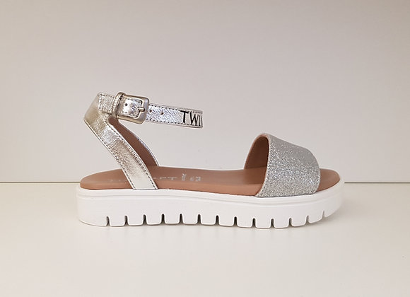 Twinset Sandal 06012 Silver