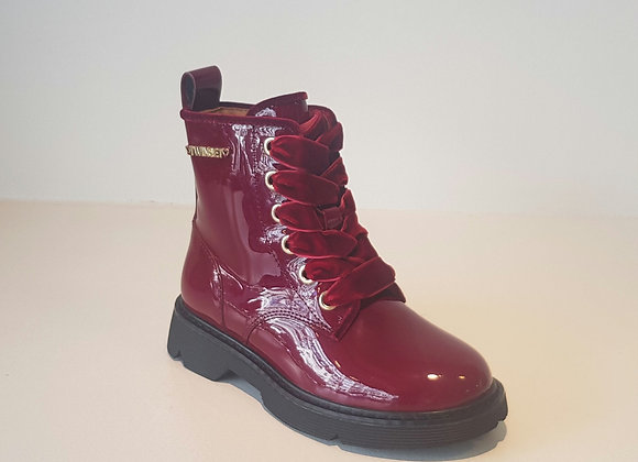 Twin Set Boots Burgundy