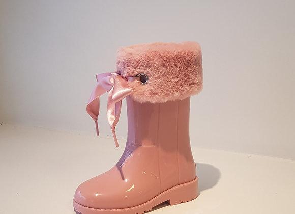 IGOR Regenlaarsje Bont Pink