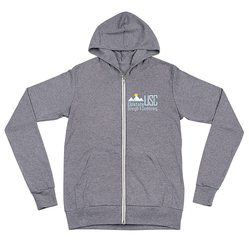 USC zip hoodie