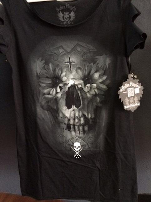 Sullen Ladies Daisy Skull