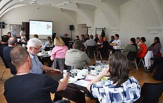 Ustavující schůzi MAS Voticko bylo přítomno 41 členů – zástupců samospráv, neziskových organizací, podnikatelů a aktivních občanů. Foto: Archiv MAS Voticko