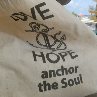 let love anchor you