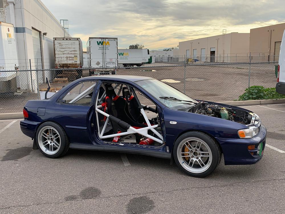 Tyro Racing. A rally racing team.