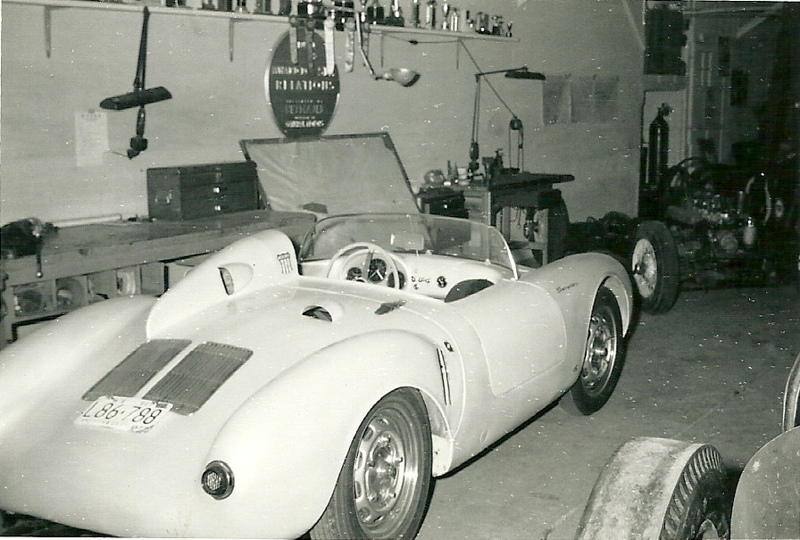 Porsche 550 from Tyro Racing