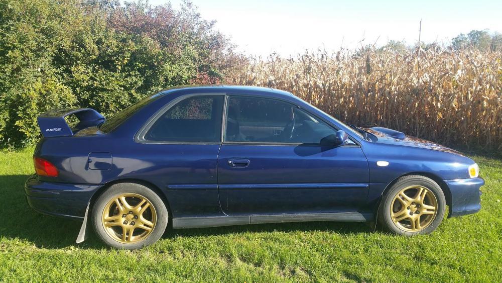 2001 Subaru Impreza 2.5rs from Tyro Racing