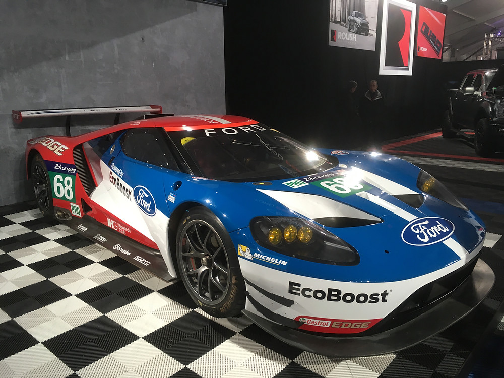 Ford GT. Tyro Racing a Race team.