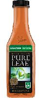 Pure Leaf Logo on Tyro Racing a racing team