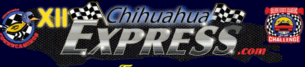 Chihuahua Express Logo on Tyro Racing