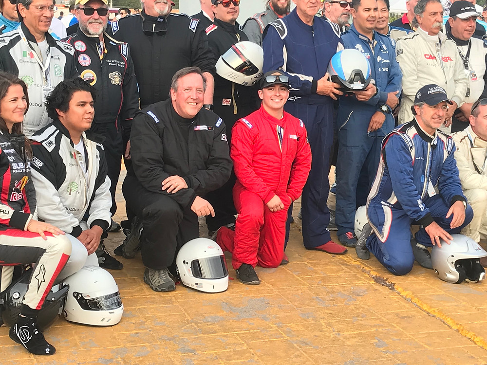 Group Photo after the blessing. Tyro Racing. A Racing Team.