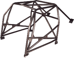 Aautopower motorsports roll cage on Tyro Racing a racing team