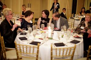 participants at a fundraising gala