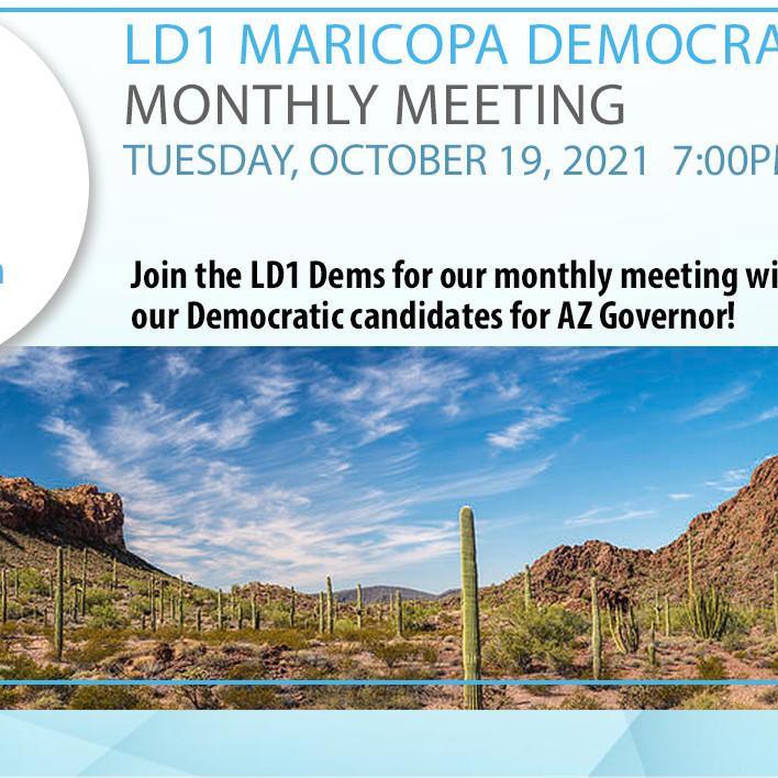 LD1 Democrats October Meeting