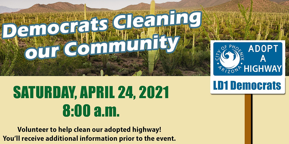 Democrats Cleaning up our Community!