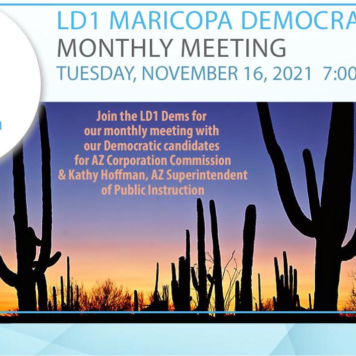 LD1 Democrats November Meeting