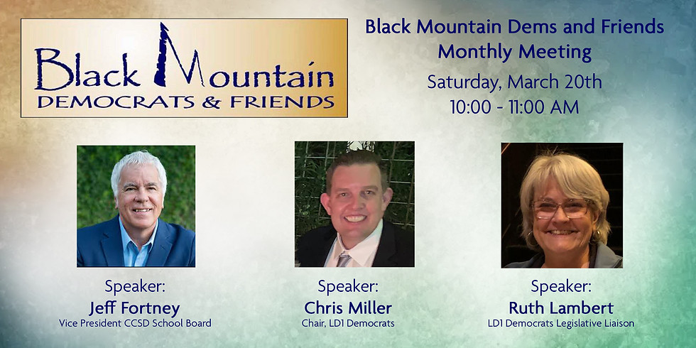 Black Mountain Dems and Friends Monthly Meeting