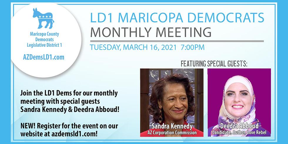 LD1 Democrats March Meeting