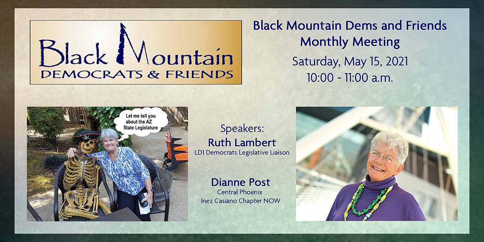 Black Mountain Dems and Friends Monthly Meeting May 2021