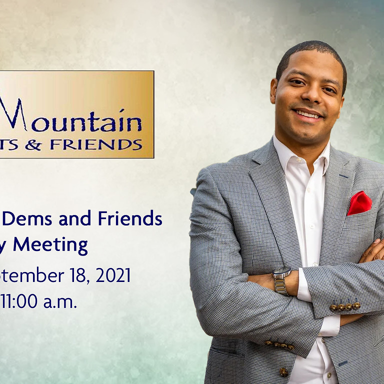 Black Mountain Dems and Friends Monthly Meeting September 2021
