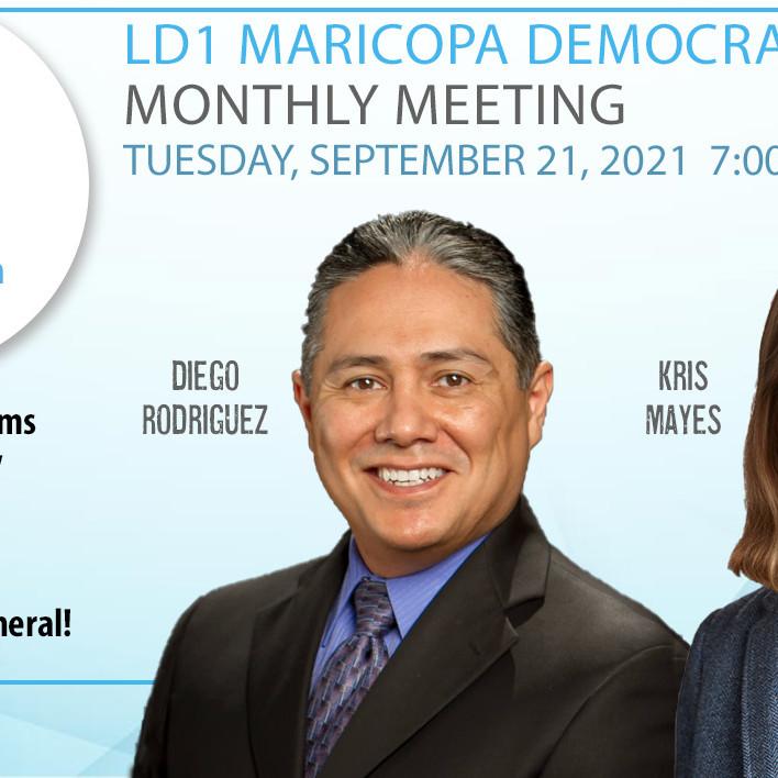 LD1 Democrats September Meeting