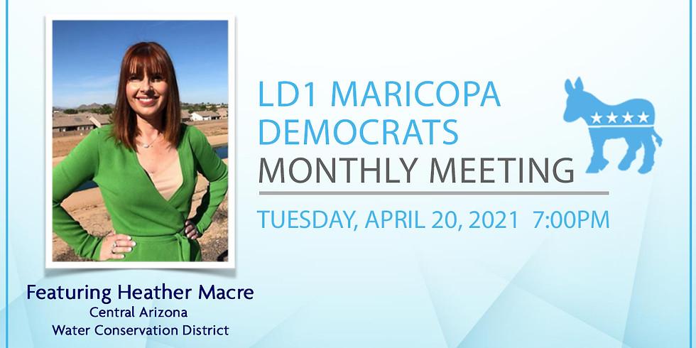 LD1 Democrats April Meeting