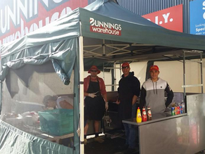 Sausage Sizzle Cancelled