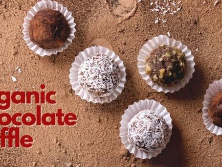 今年のバレンタインは、オーガニックなチョコトリュフを手作りしませんか?