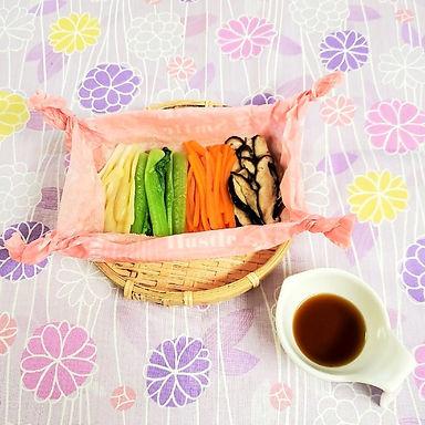オーガニック野菜・ベジ寿司料理教室2108さらさ蒸しHP.jpg