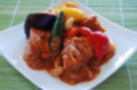 厚揚げと野菜の黒玄米酢の酢豚風.jpg