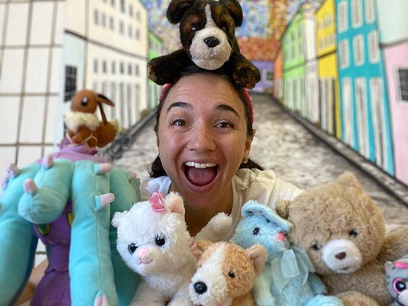 Arame and Stuffies.JPG