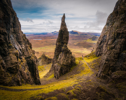 """The """"Needle"""" at Quiraing"""