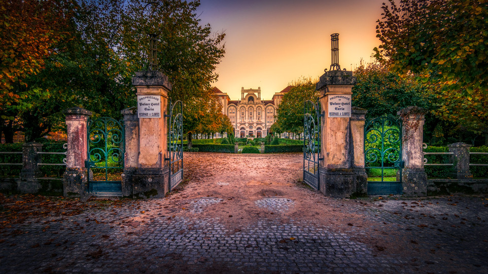 Curia Palace, Portugal